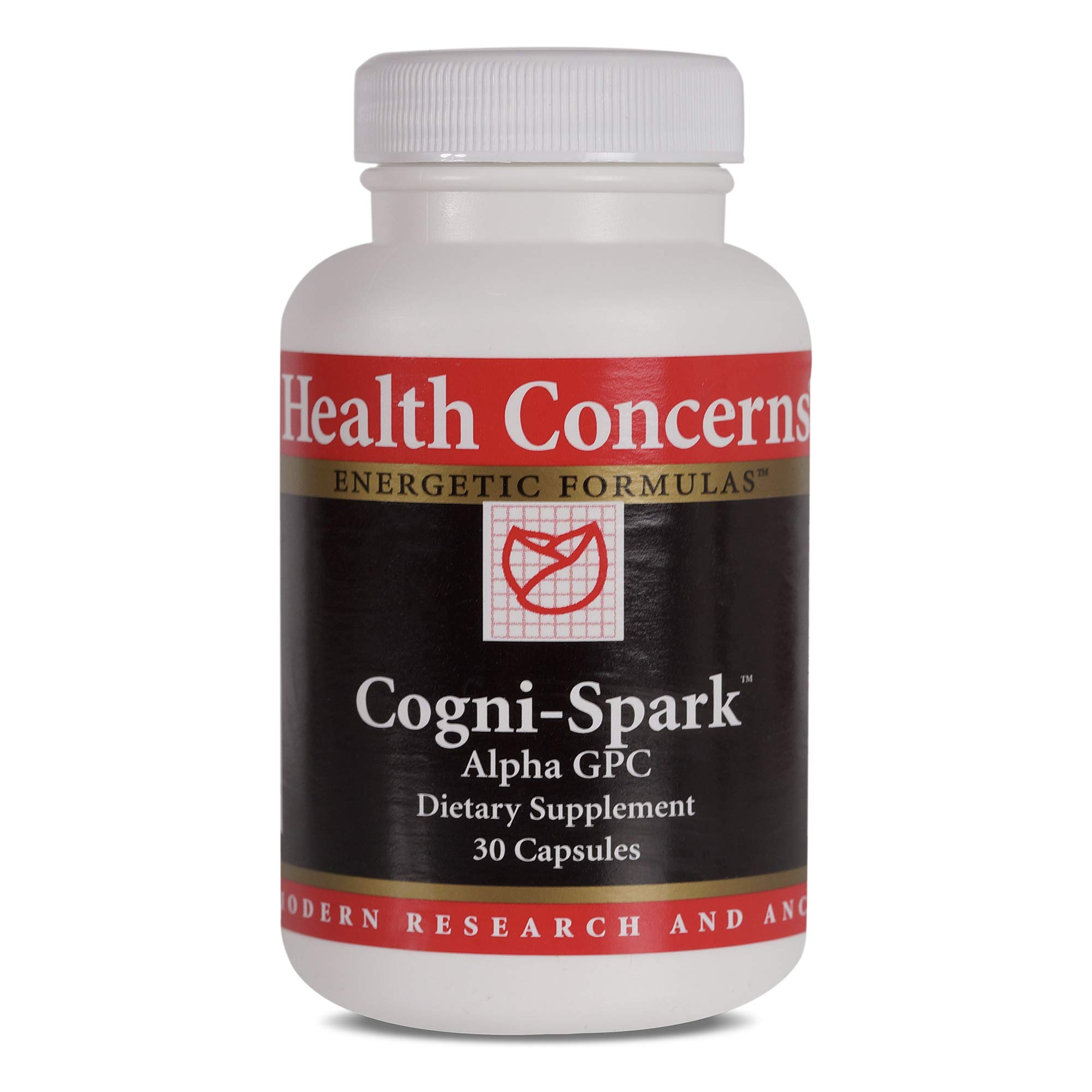 Health Concerns - Cogni-Spark - Alpha GPC Dietary Supplement - 30 Capsules