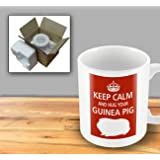 Pet Lover Designer Mug - Keep Calm And Hug Your Guinea Pig