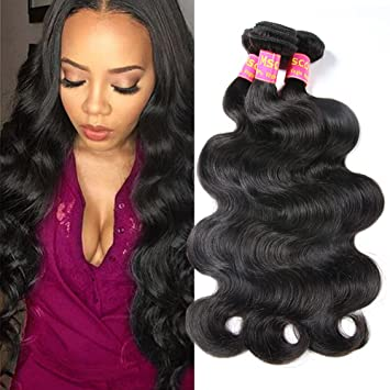 Amazon Com Mscove Brazilian Body Wave 3 Bundles 10 12 14 Inch 100
