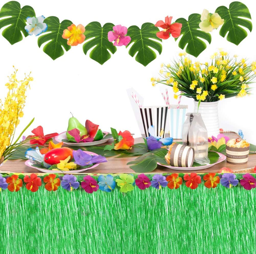 Joyclub Max 74% OFF Hawaiian Party Decorations with low-pricing 9ft Grass Luau