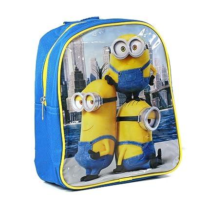 Kids Euroswan - Minions MN16399 Mini backpack azul Medidas 26,8 x 24,2