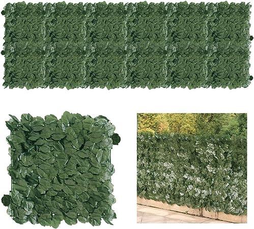 Petgrow - Paneles de Madera de boj Artificial para Valla de jardín o jardín, protección contra Rayos UV, protección contra la privacidad, para Uso en Interiores y Exteriores: Amazon.es: Jardín
