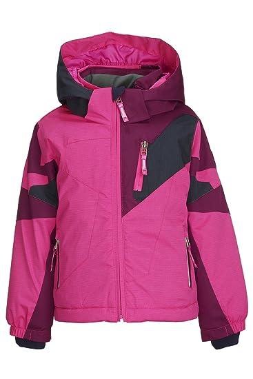 various colors 6e545 d115f Killtec Mädchen Cully Mini Skijacke / Funktionsjacke mit Kapuze und  Schneefang, GROW UP Funktion - Kindermode die mitwächst