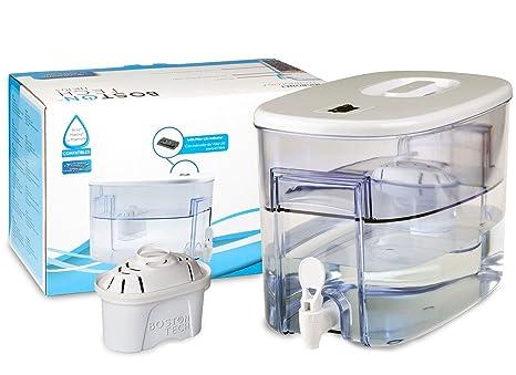 Boston Tech Fresia, dispensador de Agua Filtrada Compatible con filtros Brita Maxtra 9 litros.