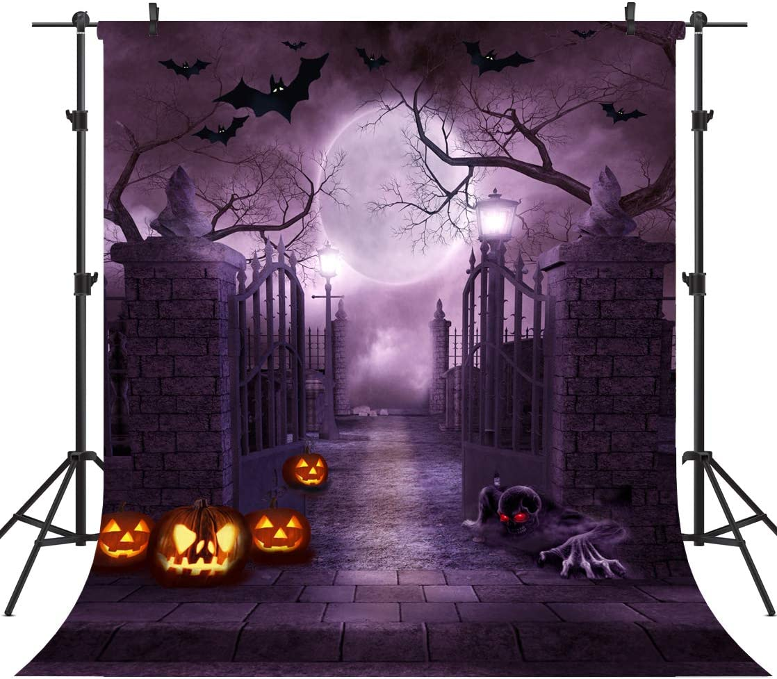 OUYIDA 10X10FT Halloween Theme Pictorial Cloth Customized Photography Backdrop Background Studio Prop TP262C