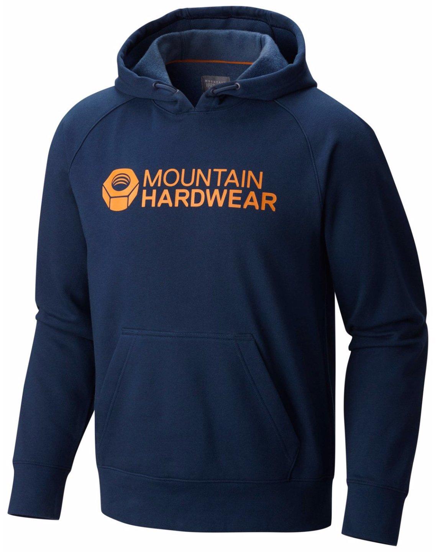 Mountain Hardwear Logo Graphic Pullover Hoody – Men 's B017UT116K Small ネイビー(Hardwear Navy) ネイビー(Hardwear Navy) Small