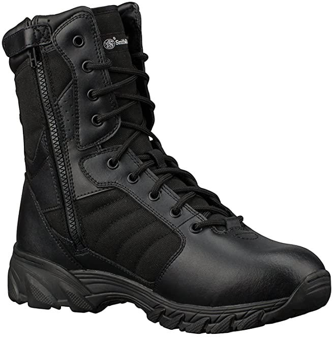 Smith & Wesson violación 2.0 Botas de Hombre Tactical Side-Zip: Amazon.es: Zapatos y complementos