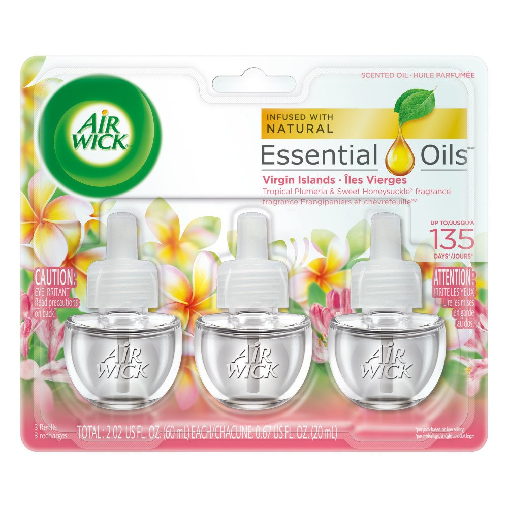 Amazon.com: Air Wick Scented Oil 3 Refills, Lavender & Chamomile ...