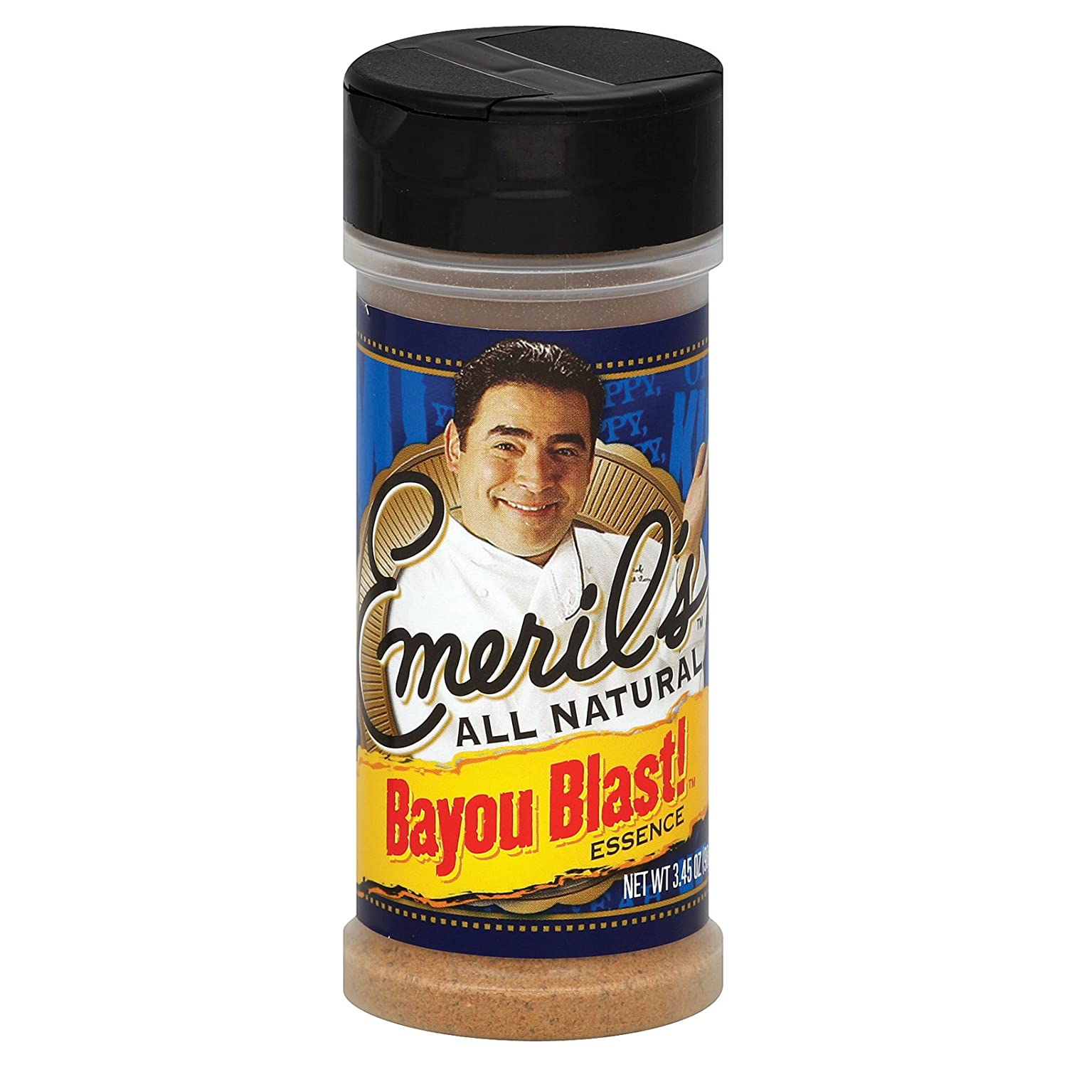 Amazon.com : Emeril's All Natural Essence Seasoning - Cajun - 3.45 oz :  Mixed Spices And Seasonings : Grocery & Gourmet Food