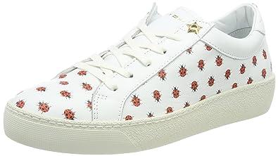 Tommy Hilfiger Lo S1285uzie 12a, Sneakers Basses Femme, Blanc (White), 42 EU