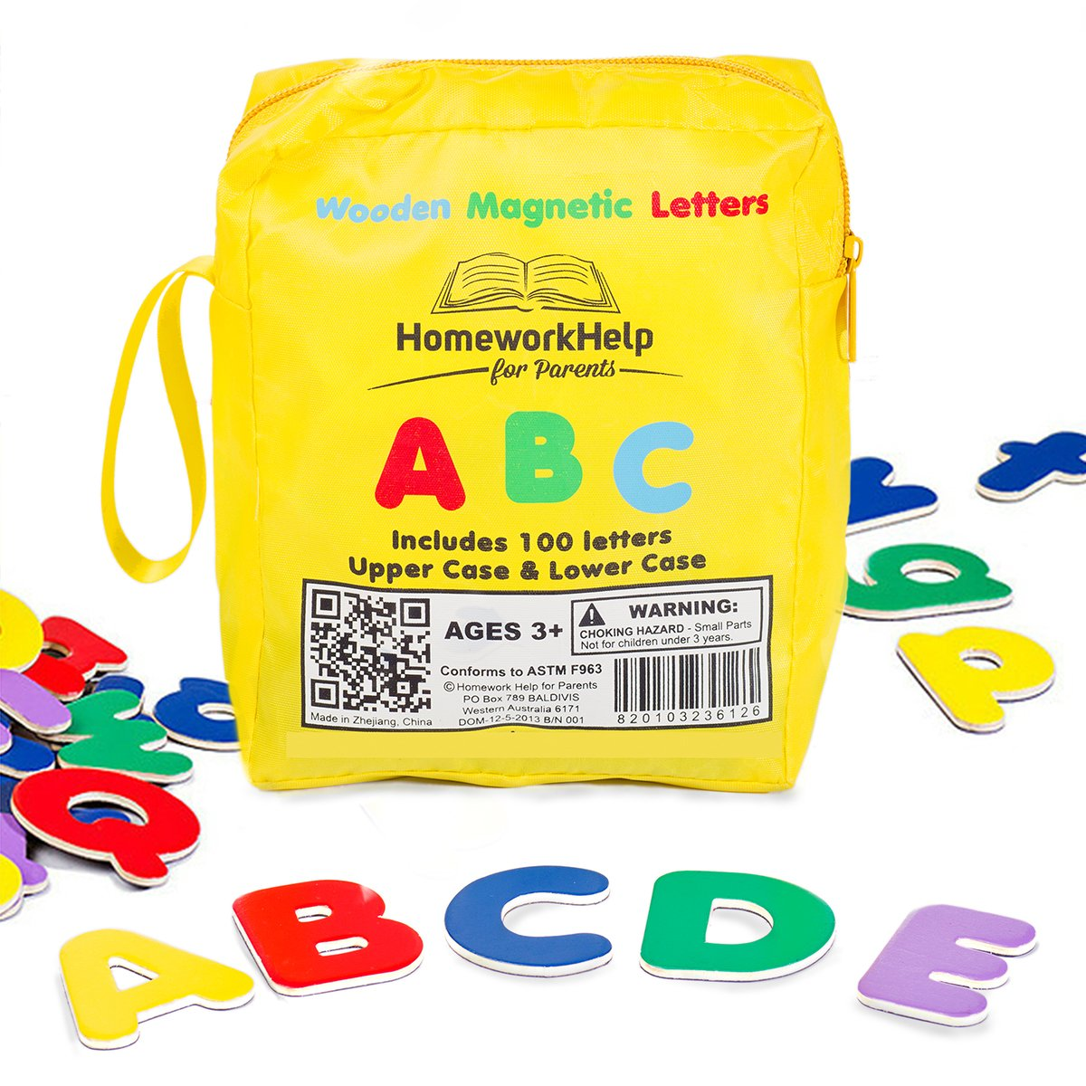 AmazonCom Classic Collection Of  Wooden Magnetic Letters