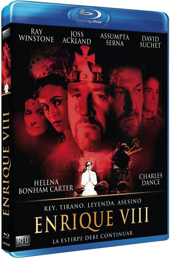 Amazon.com: Henry VIII (2003)  (Henry Eighth)  [ Blu-Ray, Reg.A/B/C Import - Spain ]: Ray Winstone, Joss Ackland, Charles Dance, Mark Strong, ...