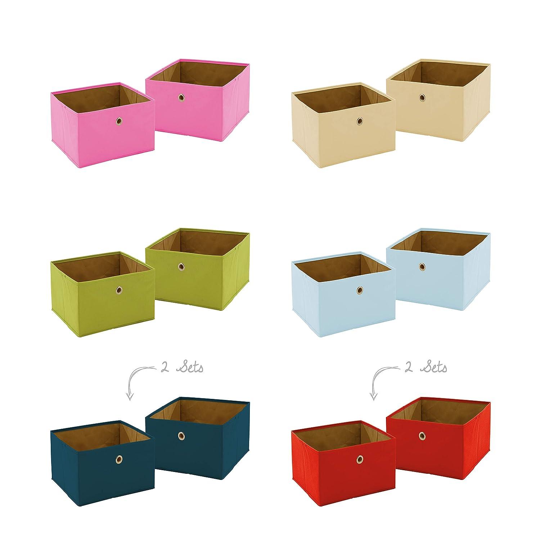 roba 26022-8-1 Canvas-Boxen, 8er-Set, mehrfarbig