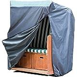 Miganeo Premium Strandkorb Schutzhülle 135x105x175/140 cm - wasserdicht 420D Oxford 18151