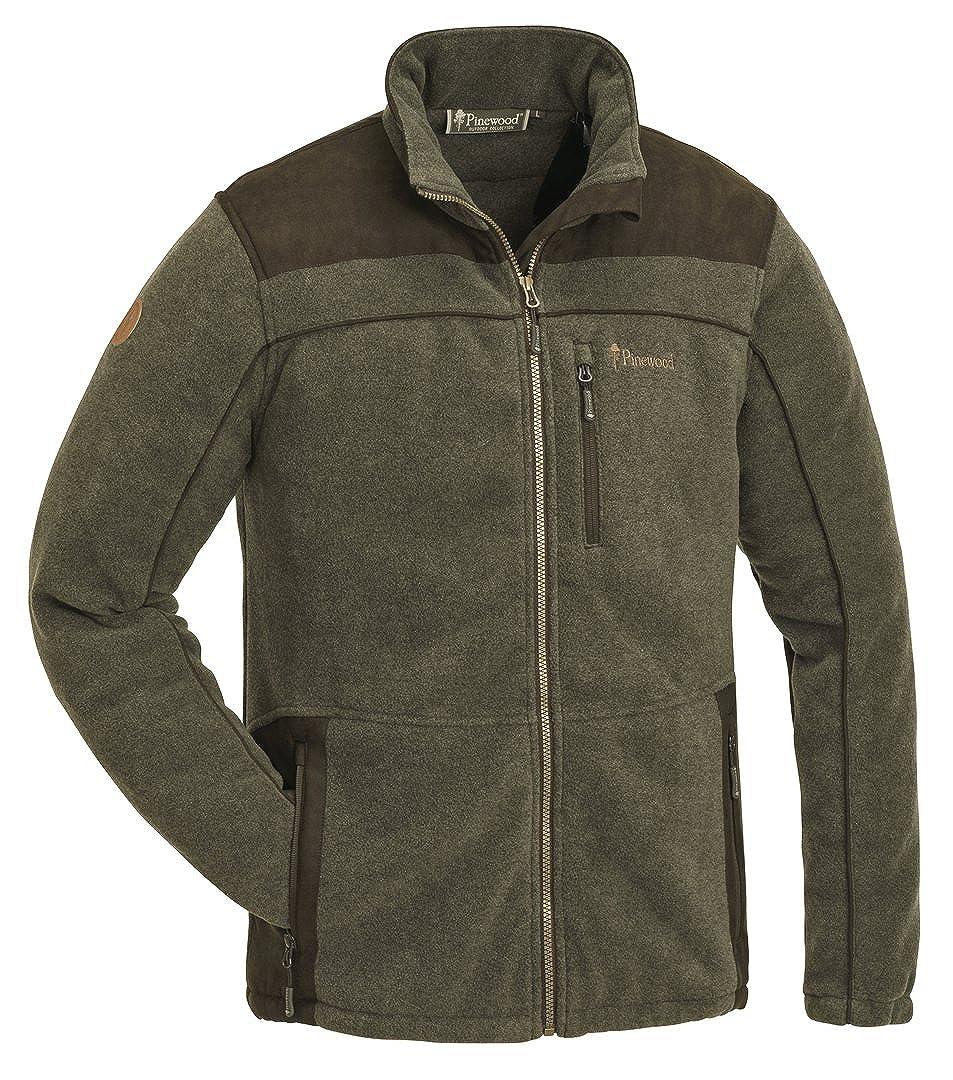 Pinewood® PRESTWICK EXKLUSIV Fleece Jacke Winter Jagd Angeln Freizeit Outdoor Fleece Jacke