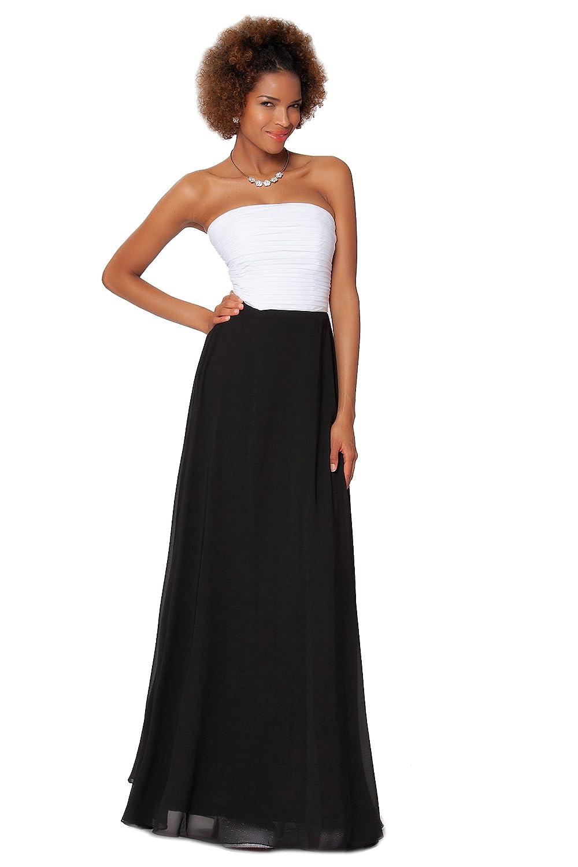 SEXYHER Gorgeous Full Length Strapless Bridesmaids Formal Evening Dress - EDJ1607