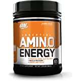 Optimum Nutrition (ON) Amino Energy BCAA Drink - 65 Servings (Orange Cooler)