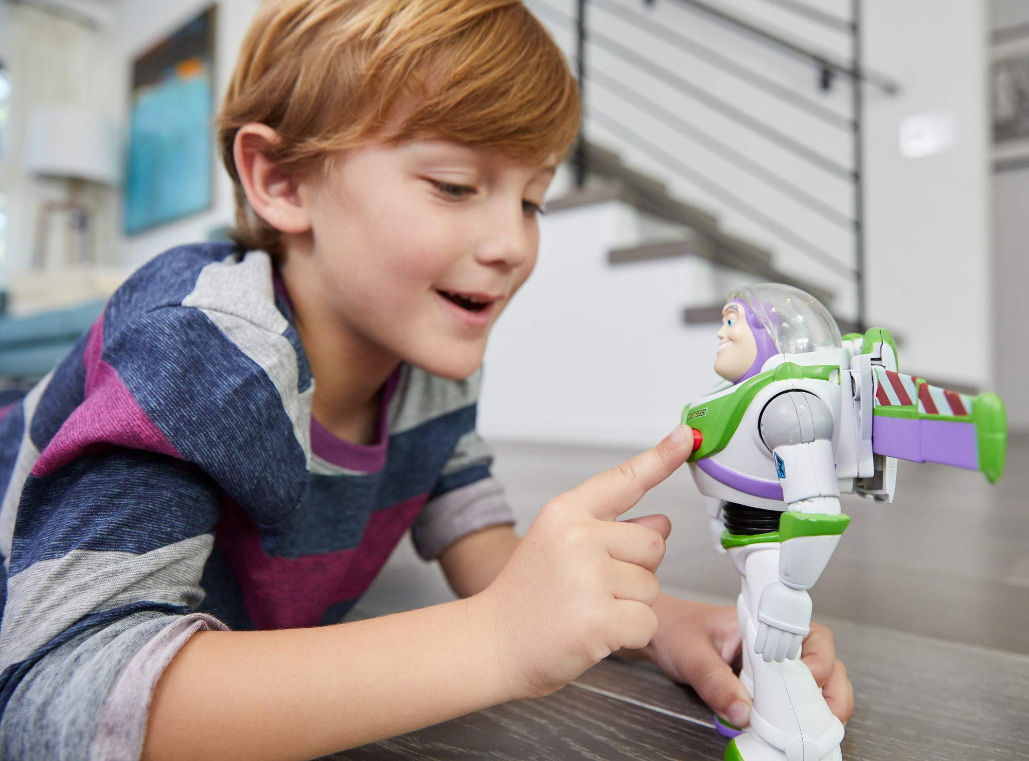 Disney Pixar Toy Story Ultimate Walking Buzz Lightyear, 7'' by Toy Story (Image #11)