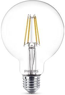 Philips Bombilla Globo E27 LED, 8 W, 1 Unidad