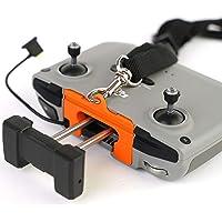 3dquad Płyta paska/mocowanie do nadajnika DJI Mavic Air 2, pasek do noszenia, smycz, pasek (pomarańczowy)