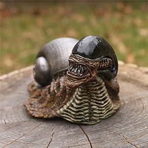 Outdoor Statues, Funny Gnomes Garden Snails, Alien Snail Statue Handicraft Figure Resin Statue, Garden Sculptures & Statues, Garden Decor Ornaments