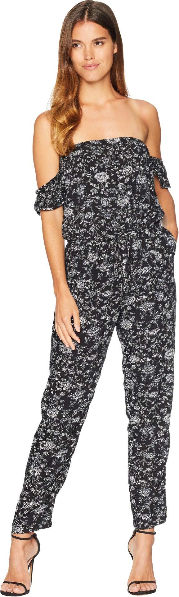 Lucy Love Women's Malibu Ranch Jumpsuit Mulberry Medium