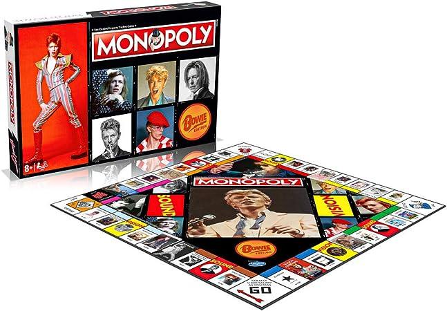 David Bowie Monopoly se vende exclusivamente a través de Booghe: Amazon.es: Juguetes y juegos