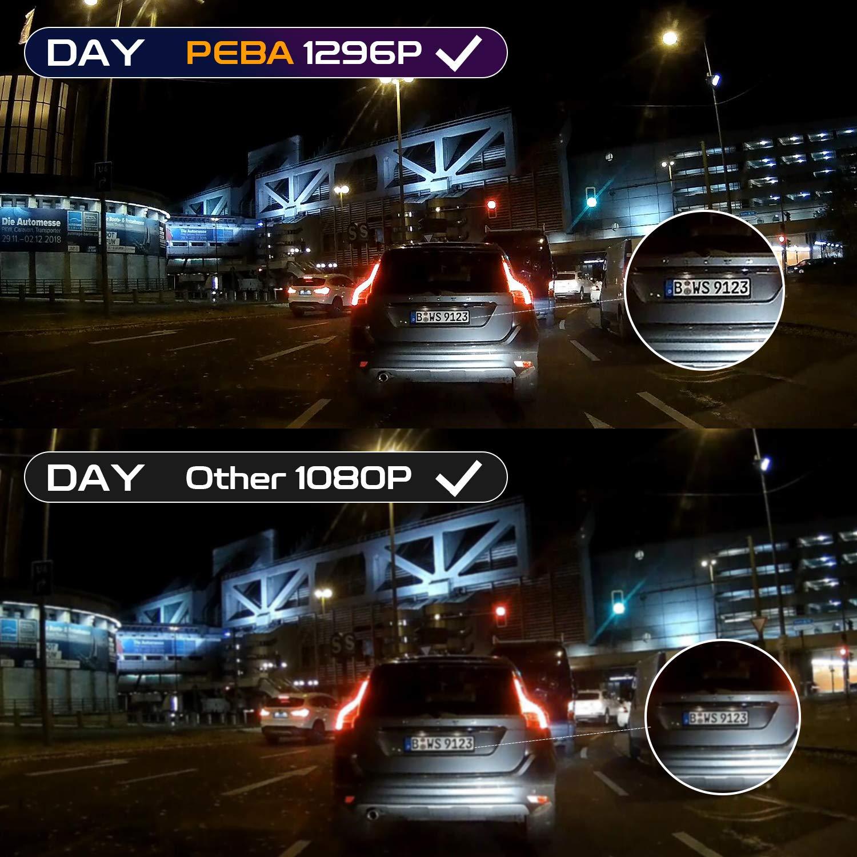 Auto-VOX VANTRUE TOGUARD PEBA Mini-USB-Kabelsatz Kfz-Ladekabel 12-24 V bis 5 V iTracker Aukey Dash Cams kompatibel f/ür Apeman