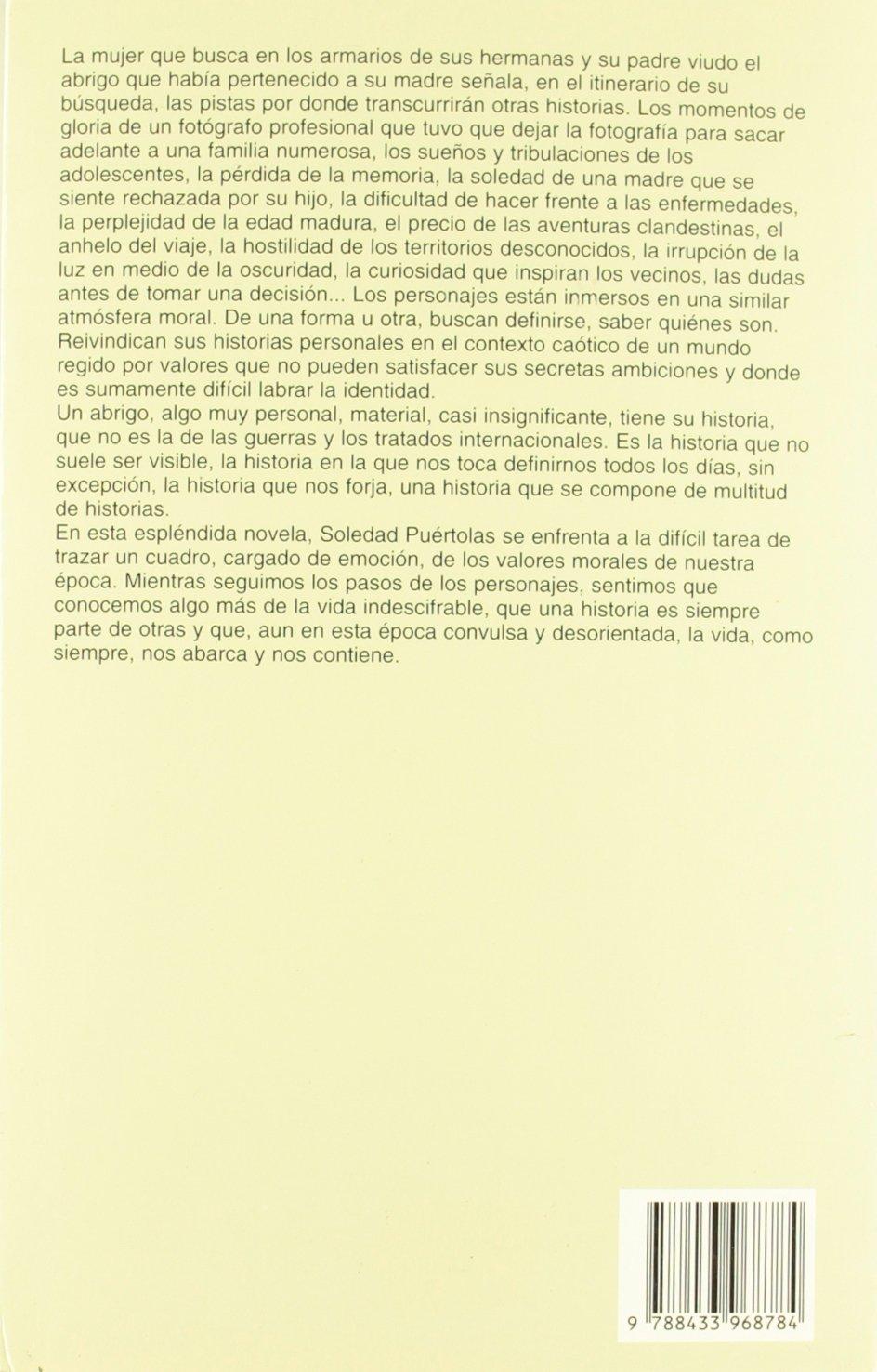 Historia de Un Abrigo (Spanish Edition): Soledad Puertolas: 9788433968784: Amazon.com: Books