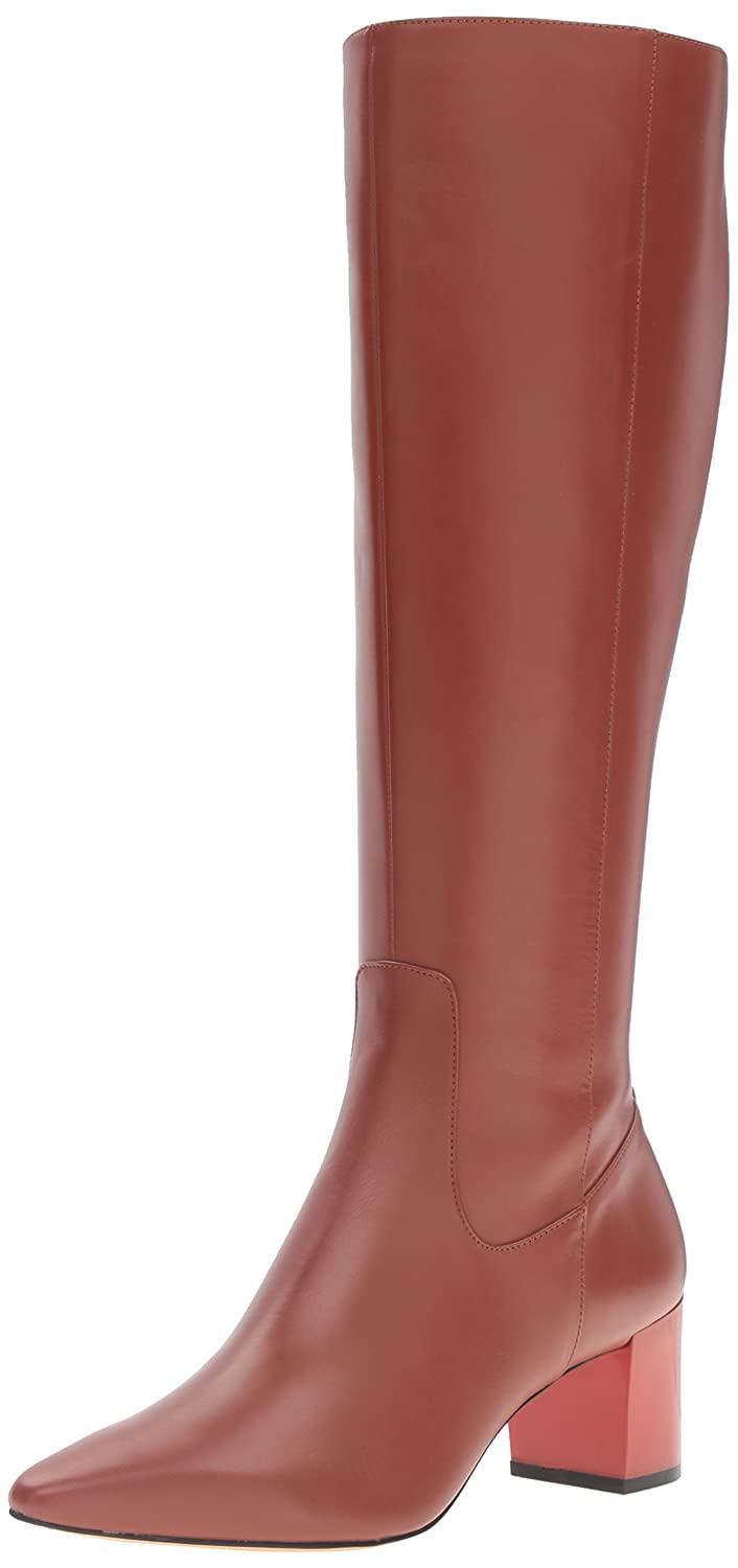 Calvin Klein Women's Nolina Engineer Boot B01DXU3XZM 6 B(M) US|Brandy
