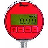 Dwyer DPG Series Digital Pressure Gauge, +/-0.5% Full Scale Accuracy, Range 30' Hg-0-100 psig