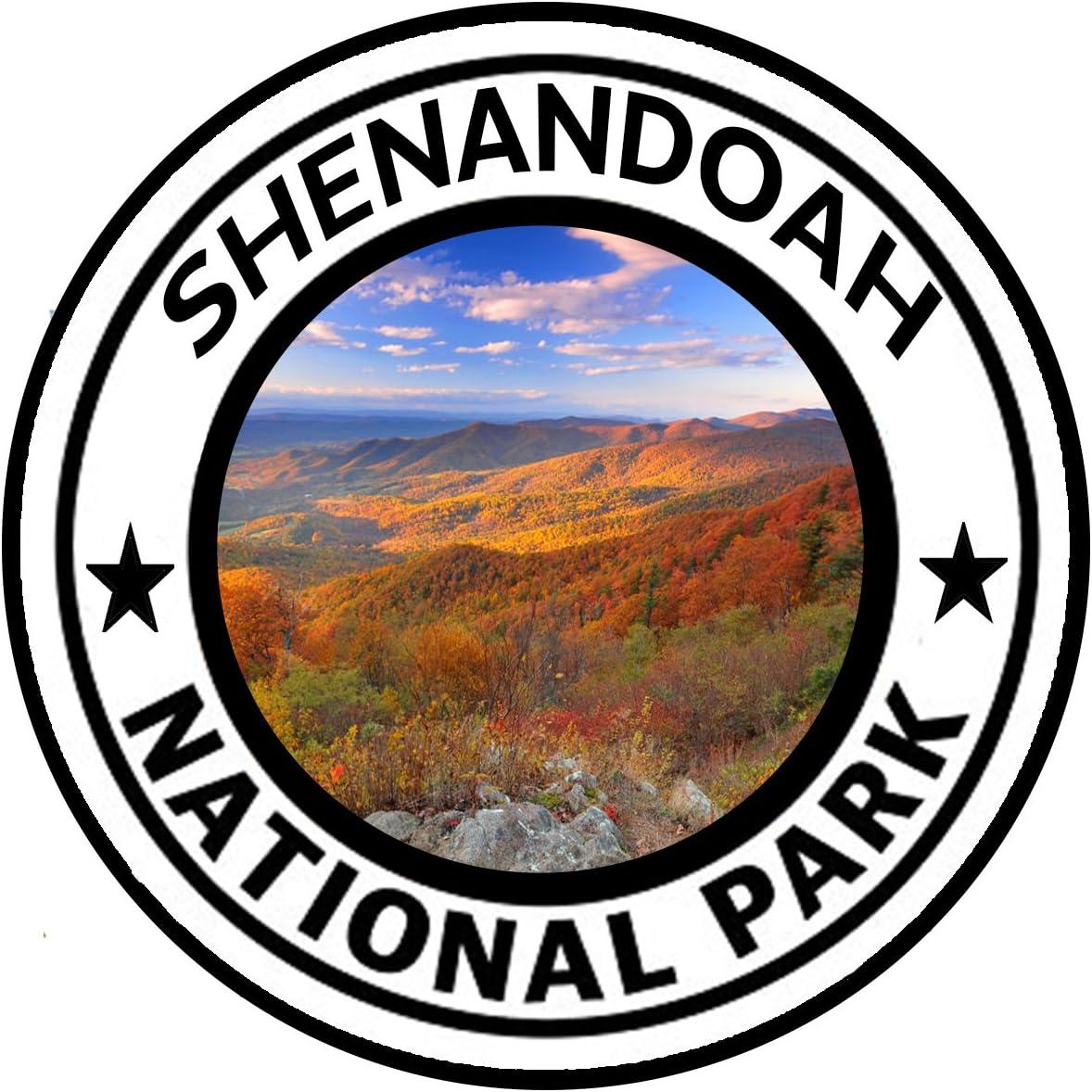 "Rogue River Tactical Grand Teton National Park Sticker 5/"" Round Car Auto Deca..."