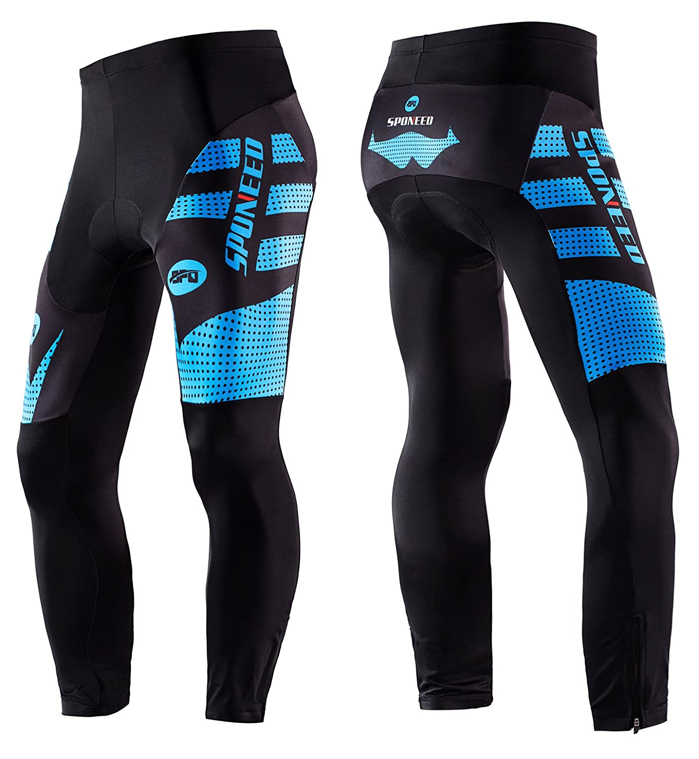 Amazon.com   sponeed Men s Bicycle Pants 4D Padded Road Cycling Tights MTB  Leggings Outdoor Cyclist Riding Bike Wear   Sports   Outdoors 85241c12b