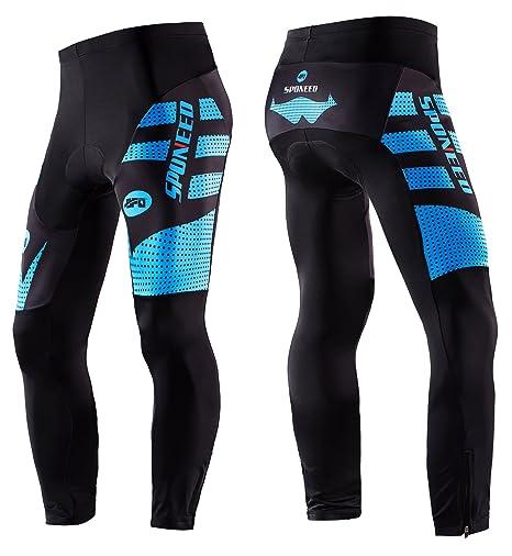 46a282e1eab64 Biking Pant Mens Winter Cycling Wear Long Cycle Pants Bicycle Tights  Ourdoor Asian M/ US