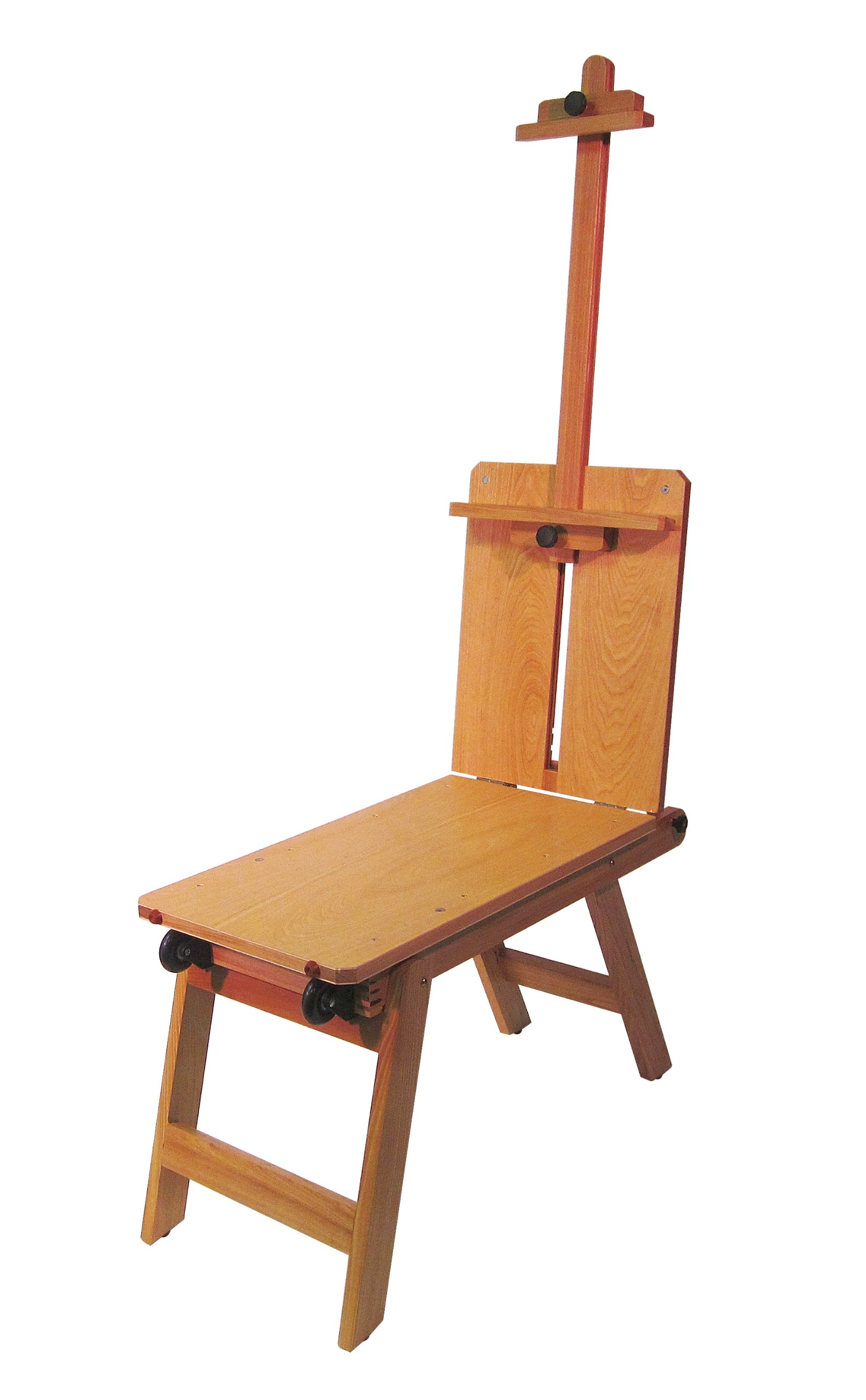 Martin Rolling Wooden Bench-Style Artist Easel