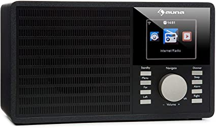 AUDIO INTERNET RADIO MUSIK W-LAN WIFI STEREO MP3 WMA STREAMING FERNBEDIENUNG
