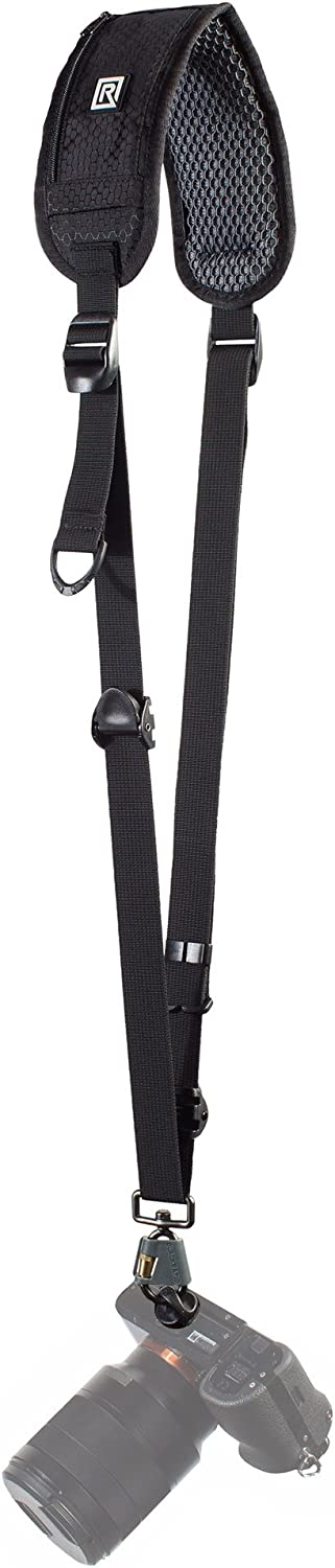 BlackRapid RS-4 Retro Classic, Original Camera Sling Design, Strap for DSLR, SLR and Mirrorless Cameras, for Right-Handed and Left-Handed Photographers, with On-The-Fly Sling Length Adjuster