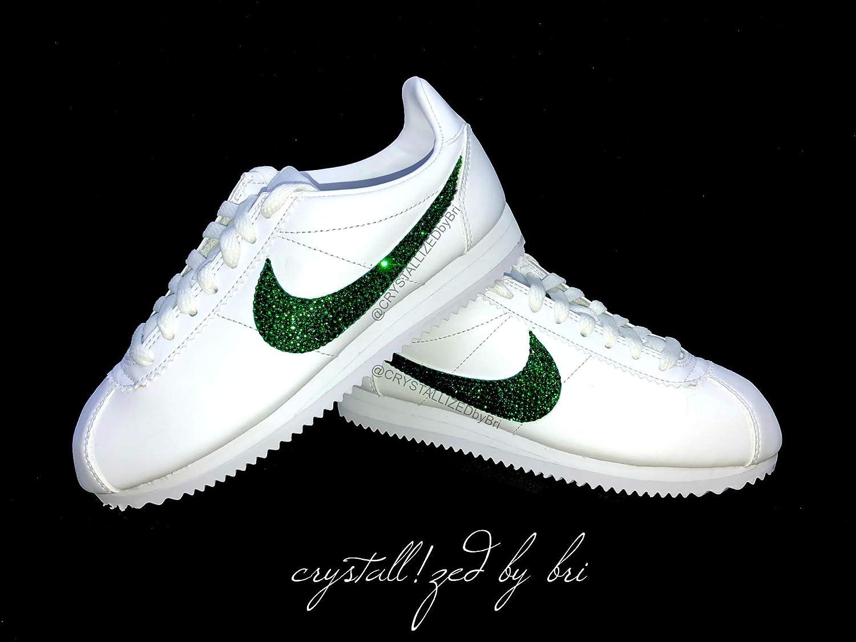 66e68c48474e Amazon.com  Swarovski CRYSTALLIZED Nike s Women Sneakers Classic Cortez  Bling Crystals  Handmade
