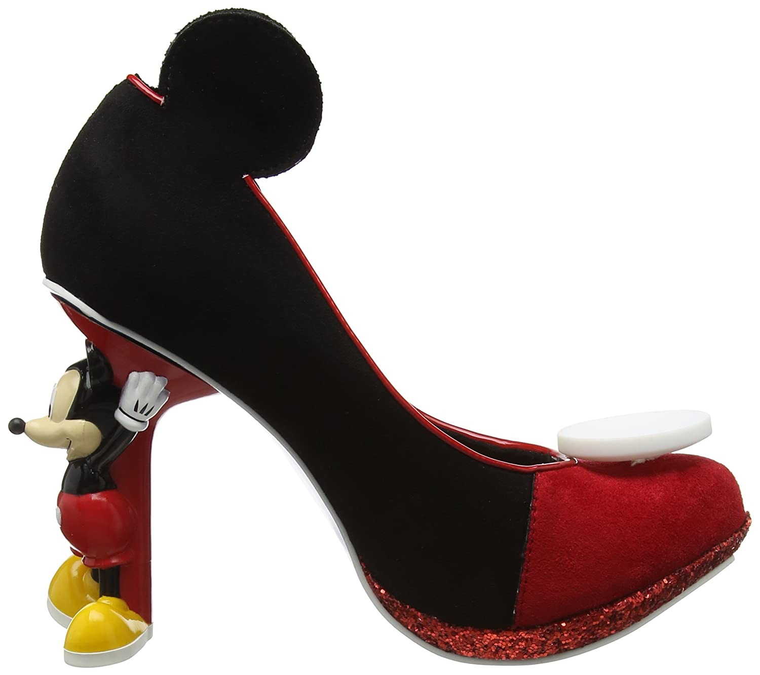 Irregular Choice Women's Mickey Mouse Closed-Toe Heels: Amazon.co.uk: Shoes  & Bags