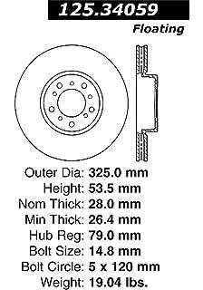 Amazon com: Centric 125 45078 Front Brake Rotor: Automotive