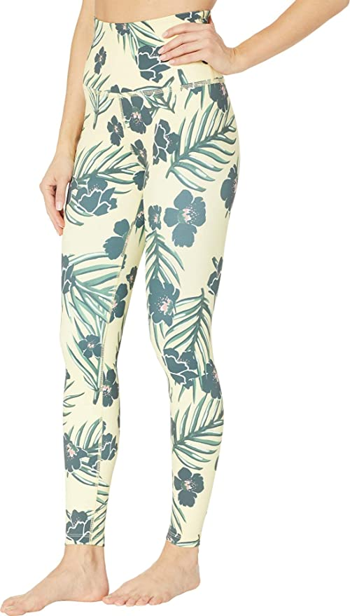 40731bdad8 Amazon.com: Beyond Yoga Olympus Compression High Waist Midi Legging,  Phantom Lace: Clothing