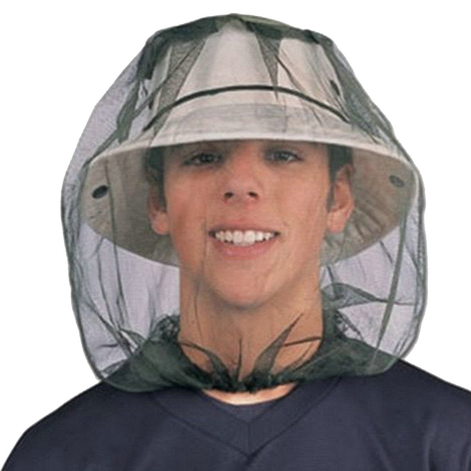 427f12ea3a3ca Mosquito Midge Insect Head Net Hat Mesh Face Protector Travel Camping  Fishing UK  Amazon.co.uk  Beauty
