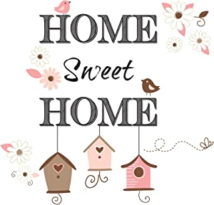 Home Décor Line CR-65104 Sweet Home Wall Decals