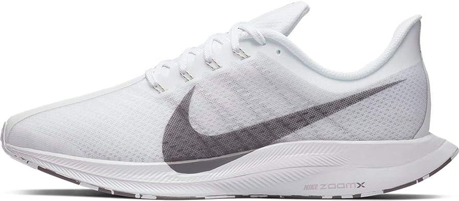 Nike Zoom Pegasus 35 Turbo - Zapatillas de running para hombre (8,5, color  blanco, gris y gris intenso)
