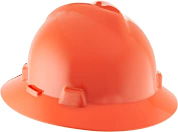 MSA Safety 10058322 V-Gard Protective Hat Orange