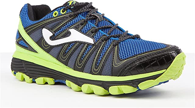 Joma Trek Zapatillas Trail Running, 504-Blu Fluor: Amazon.es: Deportes y aire libre