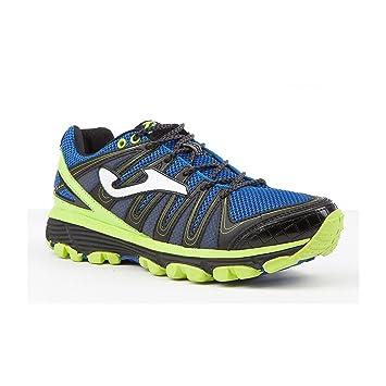 Joma Trek Zapatillas Trail Running, 504-Blu Fluor: Amazon.es: Deportes y aire libre