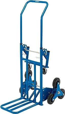 Draper 85675 Heavy Duty subir escaleras carretilla, color azul: Amazon.es: Bricolaje y herramientas