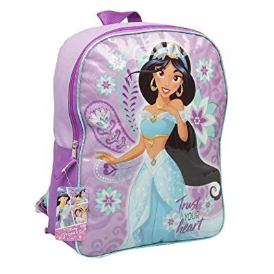 Aladdin Princess Jasmine 'Trust Your Heart' 15in Backpack | Kids' Backpacks