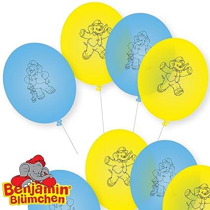 Benjamin Blümchen 8 Globos decoración para Fiesta de ...